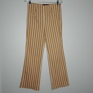 F21 ▪ High Rise Yellow Stripe Pants